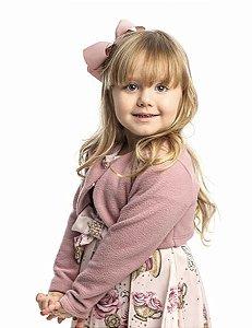 Bolero Feminino Infantil Rosa