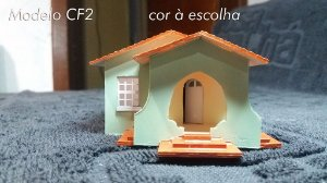 Casa Popular Modelo CF2 H.O.