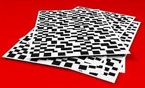Textura Adesiva H.O. - Calçadão Campos do Jordão (5 folhas)
