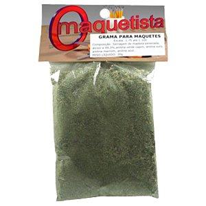 Grama para Maquetes/Dioramas - Verde Musgo 30g