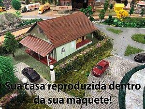 Sua casa na sua Maquete