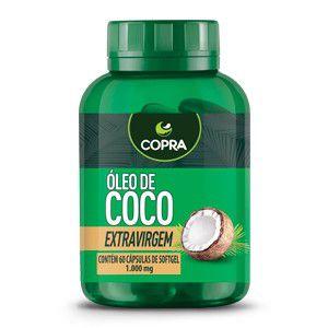 Óleo de Coco Extra Virgem Cápsulas
