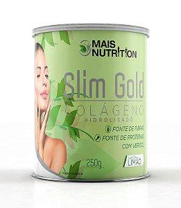 Colágeno Hidrolisado - Slim Gold - Sabor Limão