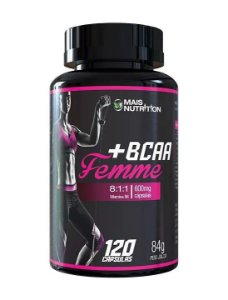 BCAA Femme - 120 cápsulas