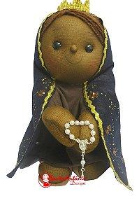 Boneca Nossa Senhora de Aparecida Artesanal