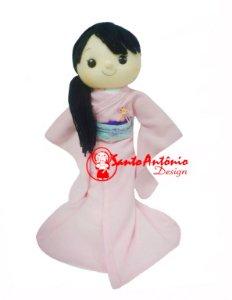 Boneca de Kimono Personalizada
