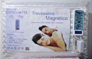 Travesseiro Massageador com Magnético e Infravermelho Longo
