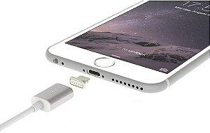 Cabo Apple Lightning USB Magnético com indicador luminoso de carga GEEPIN alta velocidade 1.5m