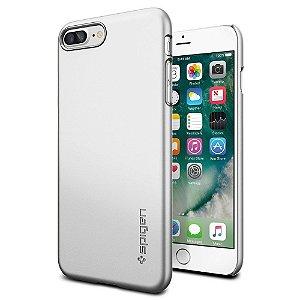 Case Spigen® [Thin Fit] Exact-Fit [Black] Premium Matte Finish Hard iPhone 7, iPhone 7 Plus
