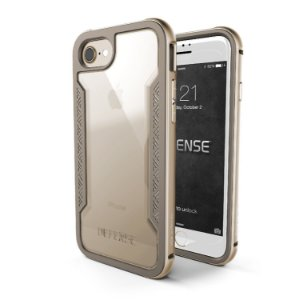 Case X-Doria iPhone 7 (Defense Shield) Military Grade Drop Tested iPhone Case, TPU & Aluminum Premium Protective