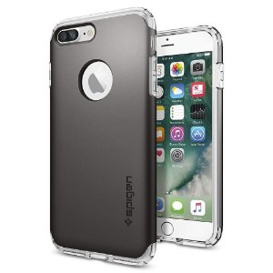 Case Spigen [Hybrid Armor] AIR CUSHION Clear TPU / PC Frame Slim Dual Layer Premium iPhone 7 e iPhone 7 Plus