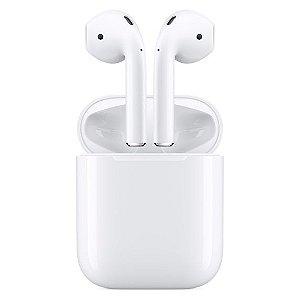 Fone de ouvido sem fio AirPods Apple