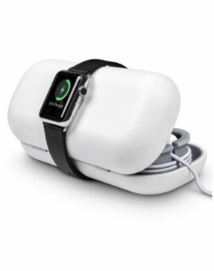 Twelve South TimePorter for Apple Watch accessory travel case + bedside charging stand