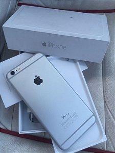 iPhone 6 Plus 128GB Prata com pelicula de vidro temperado