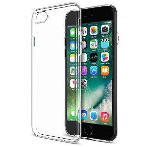 Case Maxboost [Liquid Skin] Extreme Thin Case for Apple iPhone 7 e 7 Plus 2016 - 0.4mm Ultra Clear Soft Flexible Gel TPU Transparent Skin Scratch-Proof Bumper Cases - Ultra Clear