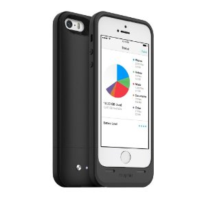 Case Bateria Mophie Space Pack para iPhone 5 e iPhone 5s