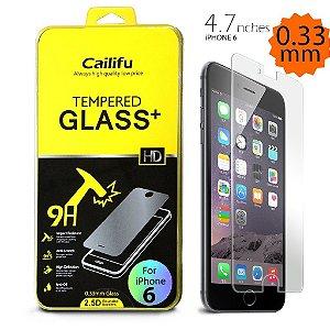 Película de proteção iPhone 6 Cailifu [Vidro Temperado] Alta definição