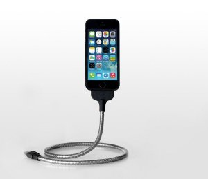 Cabo Fuse Chicken Une Bobine iPhone 6, 6 Plus, 5s, 5, 5c Charge Cable/Stand (MFI Certified)