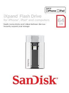 Pendrive SanDisk iXpand USB 2.0 Com Lightning Conector