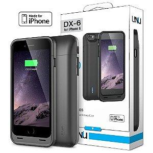Case bateria UNU DX Certificação MFI 3000mAh iPhone 6