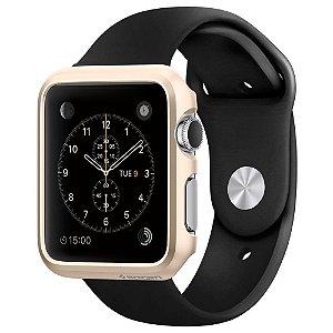 Case Apple Watch Spigen® [Exact-Fit] Slim **Lançamento** Premium Hard Case