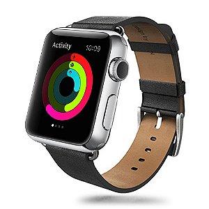 Pulseira AERB Edição Baseus Apple Watch Couro Genuíno fecho clássico e fecho moderno