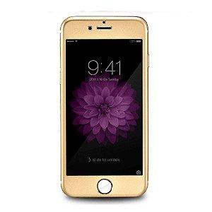 "Protetor de tela película de vidro temperado 9H Premium [Cobertura em Alumínio ] HD Retina iPhone 6 4.7"""