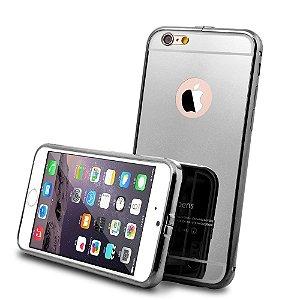 Case Roybens Luxo Air Alumínio Metal Bumper  + Vidro fundo , Ultra fina para Apple iPhone 6