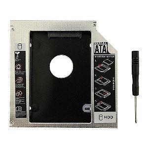 Drive Caddy Adaptador de CD/DVD para HDD/SSD Macbook/pro/iMac