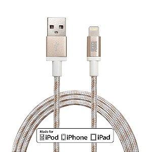 Cabo EZOPower Corda Apple Certified MFI Extra Longo 3 metros Lightning