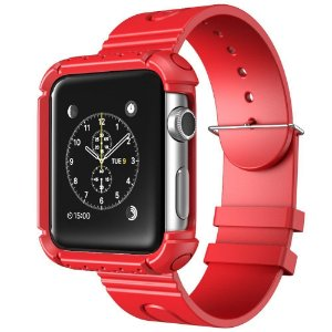 Case Apple Watch i-Blason Rugged Protective Case com pulseira