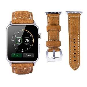 Pulseira Couro Emisoon Sports Series NATO [Nubuck] [Italy Made] Genuine Apple Watch 42mm