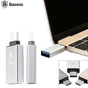 Adaptador de USB-C Baseus® Aluminum Speedy Type-C/USB-C 3.1 macho para USB 3.0 Type A Fêmea  Adapter(CB-A1) for New Apple Macbook