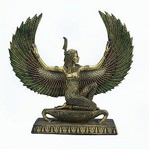 Deusa Maat com asas