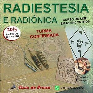 20/05/2021 - Radiestesia Clinica (ONLINE)
