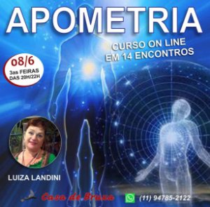 08/06/2021 - Apometria, Medicina da Alma (ONLINE)