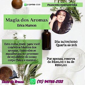 16/09/2020 - Magia dos Aromas (ONLINE)