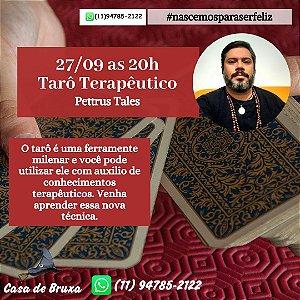 27/09/2020 - Tarô Terapêutico (ONLINE)