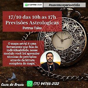 17/10/2020 - Previsões Astrológicas (ONLINE)