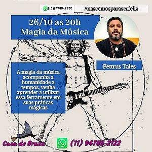 26/10/2020 - Magia da Música (ONLINE)