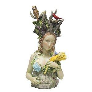 Estátua Deusa Gaia - Importada
