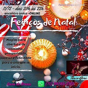 11/12/2020 - Magias de natal (ONLINE)