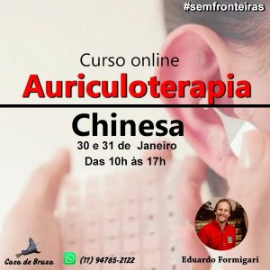 30/01/2021 - Auriculoterapia (ONLINE)
