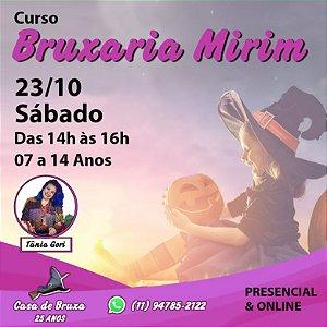 23/10/2021 - Sábado - Bruxaria Mirim (PRESENCIAL & ONLINE)