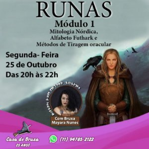 25/10/2021 - Segunda-feira - Runas Nórdicas - Mod. I
