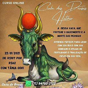 22/01/2021 - Clube das Deusas: Hator (ONLINE)