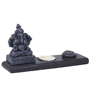 Incensário e Porta Vela Ganesha