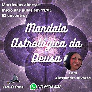 11/03/2021 - Mandala Astrológica da Deusa (ONLINE)