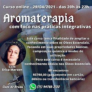 29/04/2021 - Aromaterapia & Terapias Integrativas (ONLINE)