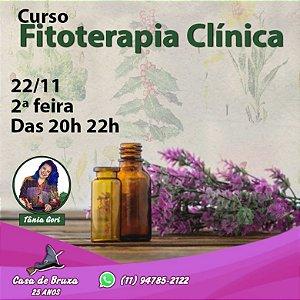 22/11/2021 - Segunda-feira - Fitoterapia Clínica (PRESENCIAL e ONLINE)